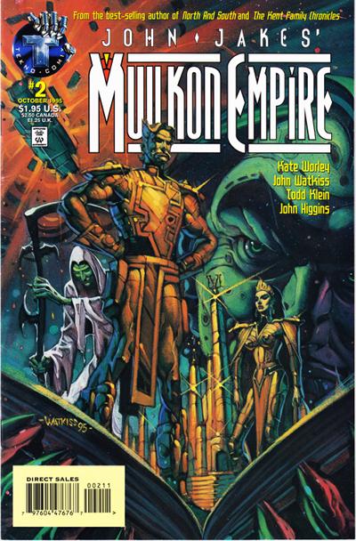 John Jakes' Mullkon Empire (1995 1996) | American Comic Books