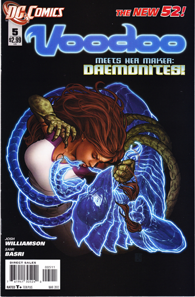 DC Voodoo #8 Comic Book 2012 New 52